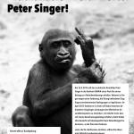 Kein Froum für den Euthaanasie-Befürworter Singer